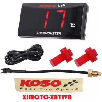 Reloj temperatura Digital