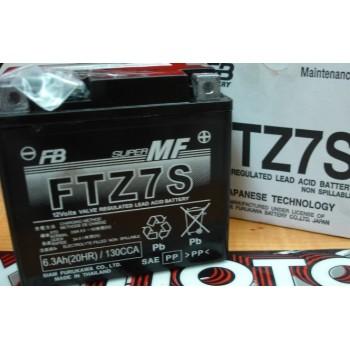 Bateria YTZ7S Furukawa GEL